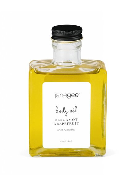 janegee Bergamot Grapefruit Body Oil