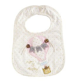 Mud Pie Up And Away Hot Air Balloon Bib