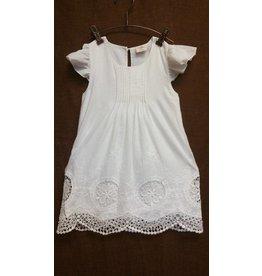 MLKids White Classic Eyelet Dress