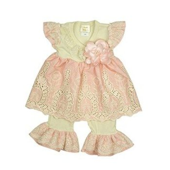 Haute Baby Peach Blossom Swing Set