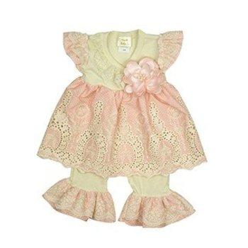 Haute Baby Peach Blossom Swing Set