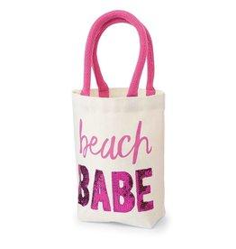 Mud Pie Beach Babe Mini Tote Bag