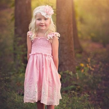 Haute Baby Peach Blossom Dress