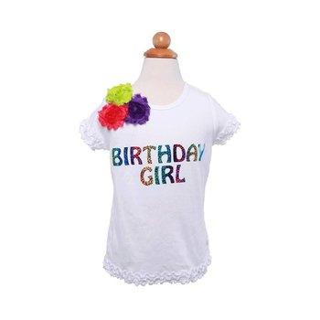 Reflectionz Rainbow Birthday Girl Top
