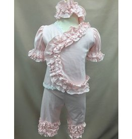 Bebe Gabrielle Blush Ruffle Take Me Home