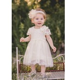 Mae Li Rose White Lace Dress