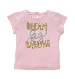 "Mud Pie ""Dream Big Darling"" Bamboo Tee"
