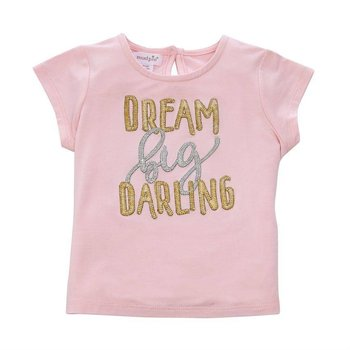 "Mud Pie ""Dream Big Darling"" Bamboo Tee"