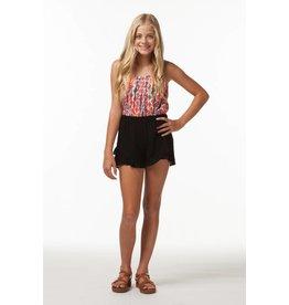 PP LA Black Ruffle Shorts