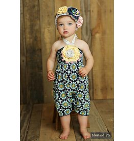 Mustard Pie Secret Garden Fiona Romper