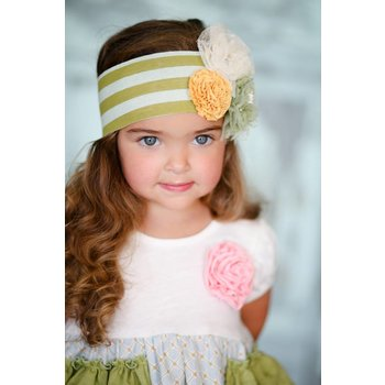Giggle Moon Garden of Eden 3 Flower Headband