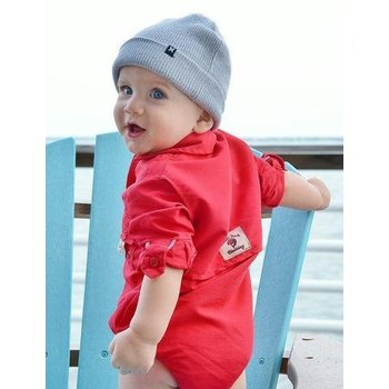 Bull Red Red Fishing Onsie