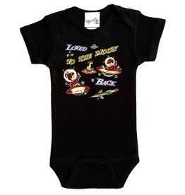 Rockin AB Love You to the Moon and Back Onesie