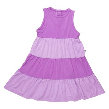 Sweet Bamboo Purple Four Tier Bamboo Dress