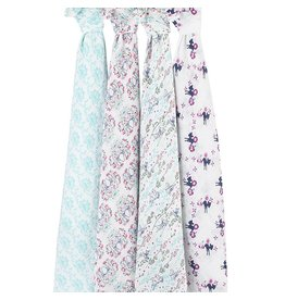 Aden + Anais Bambi 4 Pack Classic Swaddles