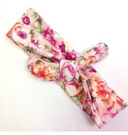 Wild Juniper Pink Floral Turban Headband