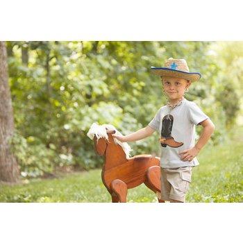 Wally & Willie Golden Spur Cowboy Boot Shirt