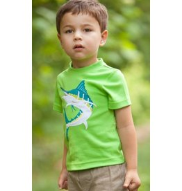 Wally & Willie Lime Green Marlin Tshirt