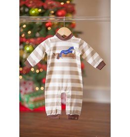 Wally & Willie Chilly Dog Onesie Romper
