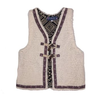 Truly Me Faux Shearling Vest