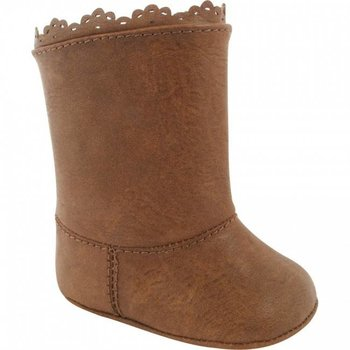 Baby Deer Tall Faux Leather Brown Boot