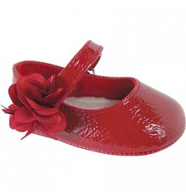 Baby Deer Red Patent Leather Slipper