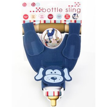 Bebe Blue Puppy Bottle Sling