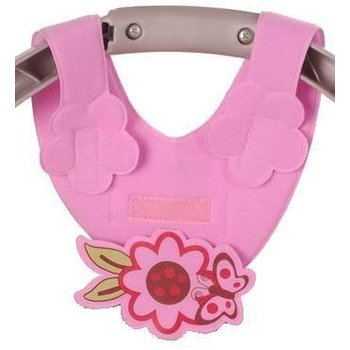 Bebe Pink Flower Bottle Sling