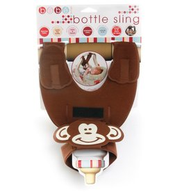 Bebe Brown Monkey Bottle Sling
