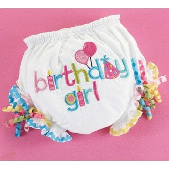 Mud Pie Birthday Girl Corkscrew Bloomers