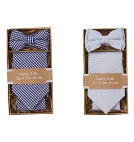 Mud Pie Daddy & Me Tie & Bow Tie Set