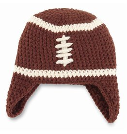 Mud Pie Chunky Knit Football Hat