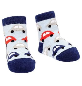 Mud Pie Navy Red and Grey Car Socks