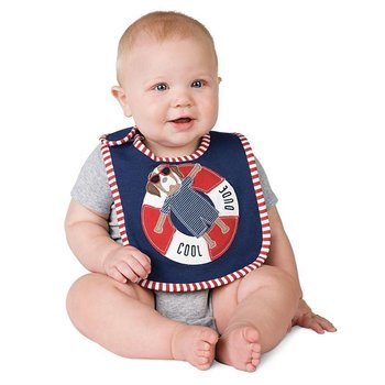 Mud Pie Puppy Float Bib