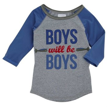 Mud Pie Boys will Be Boys Rash Guard