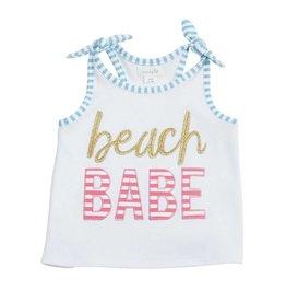 Mud Pie Beach Babe Tie Tank