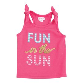 Mud Pie Fun In the Sun Tie Tank