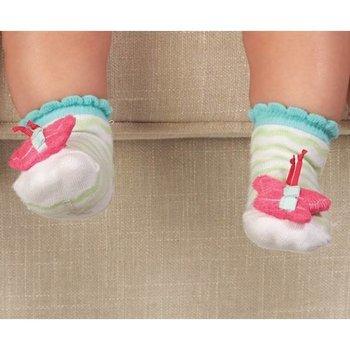 Mud Pie Butterfly Rattle Socks
