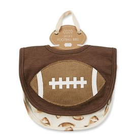 Mud Pie Football Bib Set