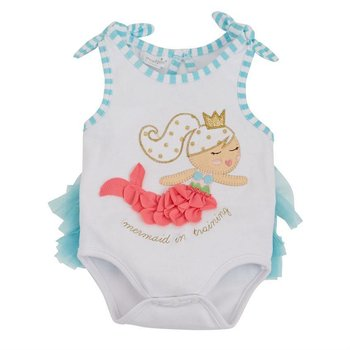 Mud Pie Mermaid TuTu Crawler