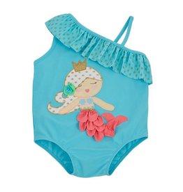 Mud Pie Mermaid One Piece Swimsuit
