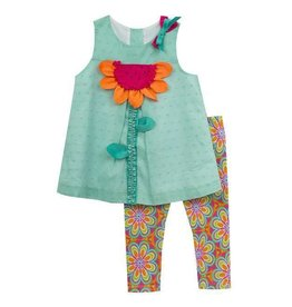 Flower Power Tunic And Legging Set