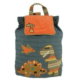 Stephen Joseph Dino Quilted Backpack