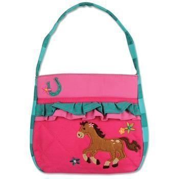 Stephen Joseph Quilted Horse Purse