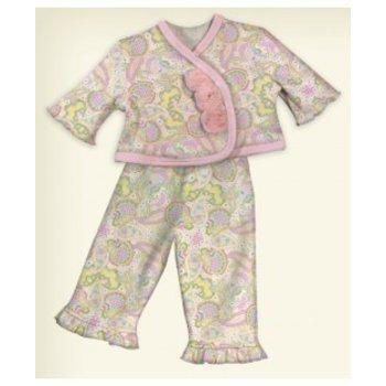 Stephan Baby Paisley Jacket/Pants Set - Preemie