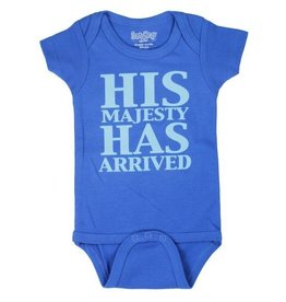 Sara Kety His Majesty Has Arrived Onesie
