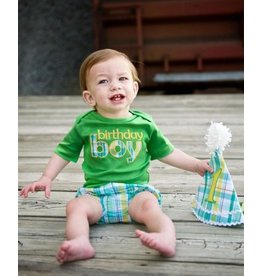 Rugged Butts Green Birthday Boy Bodysuit