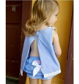 Rugged Butts Blue Chambray Bloomers