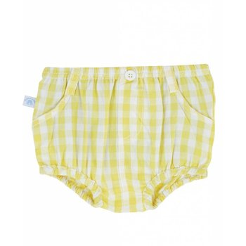 Rugged Butts Yellow Gingham Bloomer