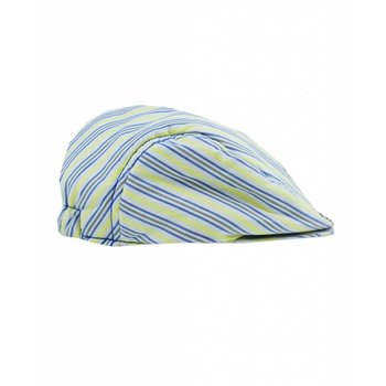 Rugged Butts Grey Blue & Yellow Striped Drivers Cap